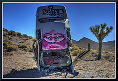 CarForest_5981d (bjarne.winkler) Tags: photo foto safari 2017 2 when driving through nevada one always has stop car forest or it is called international care home graffiti