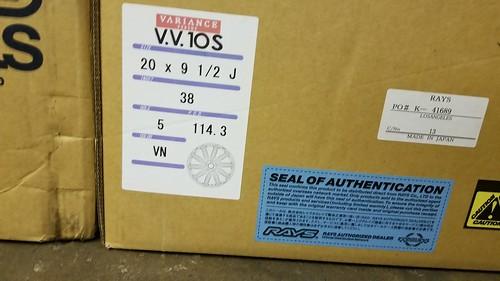 VARIANCE V.V.10S BM