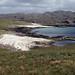 Sandy bays of southwest Handa Island. June 1983