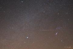 -3 mag Leonid meteor in Orion constellation (www.instagram.com/lizfoto_le_foto_di_liza) Tags: leonid meteor meteorshower leonidmeteor milkyway leonids astronomy astrophoto astrophotography astrophotos amateurastronomy starrynightastrophotography astrography orion night nightphotography