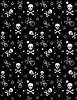 Skull & Crossbones Pattern (leannaperry) Tags: leanna perry designer artist pattern repeat skull crossbones 2000s kitsch myspace emo abbey dawn brooklyn new york ny stars gothic goth illustration design surface textile art draw drawing