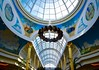 Fountain in the dome. (rustyruth1959) Tags: rotunda atrium dome skylight nikon nikond5600 manchester traffordcentre intu murals wreath decoration takeaim festive fountain arch architecture water waterfeature indoor shops shoppingcentre uk greatermanchester england paintings christmas artwork walls columns pictures tamron16300mm ceiling glassdome glassceiling roof sky