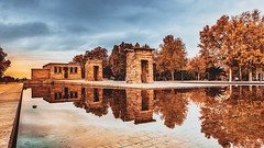Templo de Debod (Ro Cafe) Tags: madrid spain debod city cityscape monument architecture reflections autumn nikkor2470f28 nikond600 urban