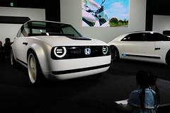 HONDA EV, Osaka Motor Show 2017 (jtabn99) Tags: 20171210 osaka nanko suminoe intex bike honda car ev electric motor show japan nippon nihon