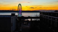 Sunset on Puget Sound (David_Rides_Bikes) Tags: puget sound seattle