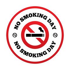 No smoking day sign. Quit smoking day symbol. (TereTobíasVicente) Tags: abstain addiction bad break burn cigar cigarette circles day design filter flat forbidden graphic habit icon illustration information issues narcotic nicotine no pernicious pictogram places prohibit prohibition public quit red round shadow sign smoke smokers smoking smoldering stop symbol tobacco toxic unhealthy vector warning