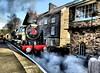 Steam Train (trev.pix) Tags: steamtrain station grosmont