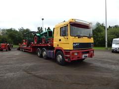 R210 FFS - Rory Woolf, Randalstown County Antrim (Jonny1312) Tags: lorry truck ballymena randalstown erf erfec14 erftruck tractor vintagetractor