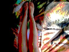 Beginning Of The Ritual (gshepherd37) Tags: art surrealism legs interior abstract