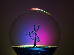 Bubble ballet dancer (Explored) (susie2778) Tags: splashartkit2 splash water waterdrop olympus omdem1mkii 1240mmf28pro bubble flash studio olympusm1240mmf28