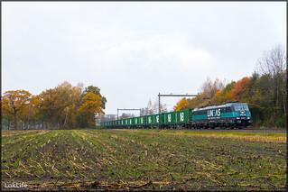 Lineas 186 293 + Sweden Xpress, Hengelo Oost