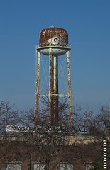Water Tower (rumimume) Tags: potd rumimume 2017 niagara ontario canada photo canon 80d sigma water tower rust sky blue outdoor