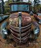 Mack Truck Grill (4 Pete Seek) Tags: oldcarcity oldautos oldcars rustyautos rustycars rustyoldcars rusty wideangle ultrawideangle superwideangle fisheye rokinon8mmfisheye a6300 mirrorless southeasternphotographicsociety sps truck macktruck mackpaneltruck