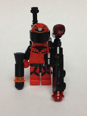 Gunz (Time to go even more obscure) (Enøshima) Tags: obscure run riot brother red gunz superboy villain 1994 comic dc purist minifigure