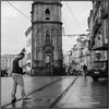 After the rain_Rolleiflex 3.5B (ksadjina) Tags: 6x6 carlzeisstessar35 igrejadosclerigos kodak400tmax nikonsupercoolscan9000ed october2017 porto portugal rodinal rolleiflex35b analog blackwhite film rain scan