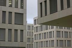 Nowhere Land (godran25) Tags: luxembourg luxemburg géométrie geometry gris grey 2017 fenêtre windows beige buildings building architecture