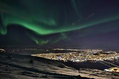 CB3B6464a (Les Blain) Tags: tromso norway aurora borealis hdr fjellstua cablecar