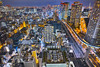PhoTones Works #9400 (TAKUMA KIMURA) Tags: photones sigma dp0quattro takuma kimura 木村 琢磨 tokyo town night scenic street building highrise 東京 町 夜景 街 ビル 高層ビル