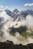 Circlet (Serious Andrew Wright) Tags: switzerland bern interlaken lauterbrunnen schilthorn mountains cliff cloud gondola crag weather view landscape snow summer