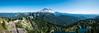 Rainier and Tolmie Peak Panorama (Justy.C) Tags: cascademountainrange eunicelake landscapephotography mountrainiernationalpark summer tolmiepeak tolmiepeaktrail usnationalpark ashford washington unitedstates us