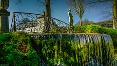 Annevoie Fence - 4166 (YᗩSᗰIᘉᗴ HᗴᘉS +14 000 000 thx) Tags: fence fences happyfencefriday annevoie jardinsdannevoie be bel eu aaa belgium belgique europa europe water waterfall cascade hensyasmine yasminehens