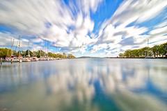 Insel Rügen - Putbus, Lauterbach Hafen (www.nbfotos.de) Tags: inselrügen putbus lauterbach hafen rügischerbodden greifswalderbodden spiegelung reflektion reflection wolken clouds mecklenburgvorpommern