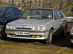 1988 Renault 11 TXE (Neil's classics) Tags: vehicle car 1988 renault 11txe