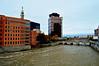 Cityscape (jcc55883) Tags: cityscape river geneseeriver mercury bridge upstateny autumn autumnal fallcolors nikon nikond3200 d3200 architecture buildings