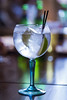 20171107_F0001: A cooling gin and tonic anyone? (wfxue) Tags: drink glass gin tonic ginandtonic straws drinking ice cold lemon lime table bokeh
