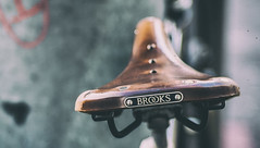 BROOKS in the Morning (*Capture the Moment*) Tags: 2017 brooks bern berne bicycle bicyclesaddle bicycleseat fahrrad fotowalk mog mogprimoplan1975neo meyeroptikgörlitzprimoplan1975neo sattel schweiz sonya6300 sonyilce6300 switzerland vintage analog analogue