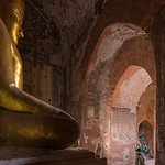 Staring at Buddha, Myanmar, June 2017 thumbnail