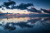 As above, so below. (Mark Boadey) Tags: reflection crosby beach reflections ironmen selfie pastel