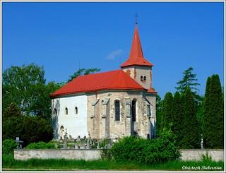 Kostel Svatého Kříže u Ronova nad Doubravou [in explore]