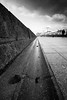Point (Tim Bow Photography) Tags: timbowphotography timboss81 welsh british porthcawl landscape landscapesofwales blackandwhitelandscapes longexposure mood ominous composition wales leadinglines lowangle gutter bokeh dof contrast line lines