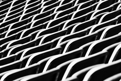 take a seat (laga2001) Tags: seat seatin chairs row pattern structure sport black white monochrome bw canon details contrast light shadow