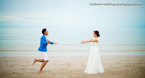 Thailand Hua Hin Beach Wedding Photography | NET-Photography Thailand Wedding Photographer