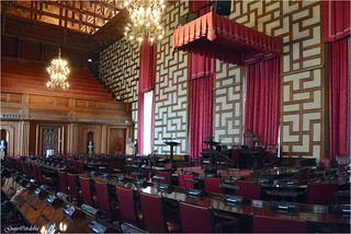 Cámara del Consejo - Rådssalen - Stockholms stadshus