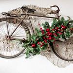 Christmas decorated bike thumbnail