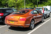 2012 Bentley Continental GT (Rivitography) Tags: frf6323 newyork orange bentley continental gt rare exotic fast luxury car vehicle coupe greenwich connecticut 2017 canon lightroom rivitography