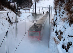Train in the Snow (Rolf-Schweizer) Tags: train zug sbb sob ostschweiz viadukt degersheim hoffeld fotografie flickr farben schweiz swiss switzerland stgallertagblatt suisse sky svizzera schweizerischerbauernverband artphotography art appenzell artist appenzellerland auffrischen bauernverband bauer canon creative colour naturephotography nature job morning morgenstimmung mexiko minimalistic frost explore europe thechurchofjesuschristoflatterdaysaints winter world white