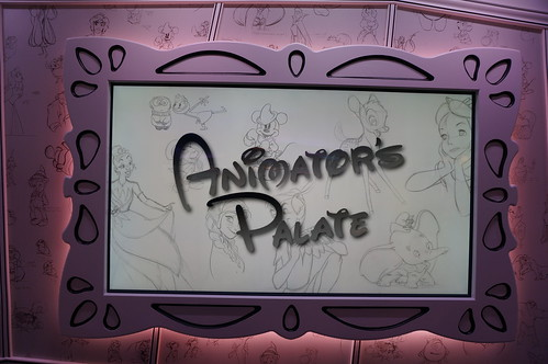 "Animator's Palate Sign on the Disney Wonder • <a style=""font-size:0.8em;"" href=""http://www.flickr.com/photos/28558260@N04/38379898672/"" target=""_blank"">View on Flickr</a>"