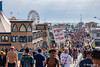 Sunday at Santa Monica Pier (astrofan80) Tags: california kalifornien losangeles personen pier riesenrad rundreise santamonica santamonicapier schild usa gebäude us