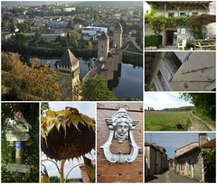 On continue. We must continue on the way. (France-♥) Tags: day7 collage france lascabanes cahors gîte village nature chemin gr65 heurtoir doorknocker