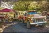 Skip 57 (Steve Walser) Tags: trailer trailers traveltrailer camping rv truck trucks chevychevytruck 1957chevy
