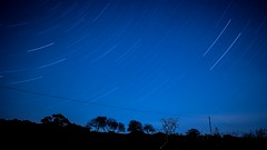 Night sky over Dartmoor (alec0nline) Tags: nightphotography landscape photography stars starrynight exposure nature nationalpark devon cornwall dartmoor