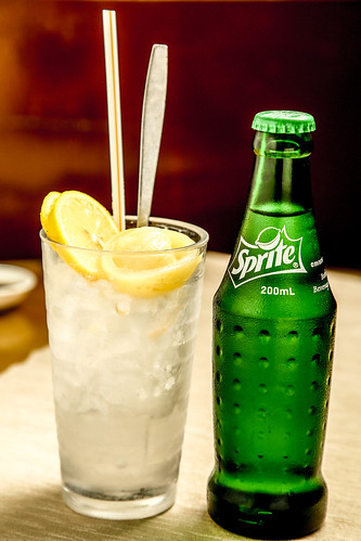 7-Up / Sprite with Salted Lemon