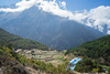 Trek to Everest View Hotel (Lenny K Photography) Tags: everest base camp trek mountain ebc sagarmatha national park nepal trekking walking sky cloud sony a7 2870mm hardship mountainside mountains rocky greenery green landscape scenic things backpacking travelling travel khumbu hiking hike multi day river valley mount trees canyon vegetation bush wide angle namche bazaar altitude view hotel