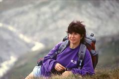 Dans l'Arpont (maxguitare1) Tags: femme mujer woman donna france vanoise montagne mountain montagna montaña randonneur mochilero backpacker portrait