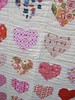 heart quilt (bulabean) Tags: heartquilt sewing quilting heartblock cottonandsteel heatherross