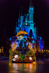Under the Sea (Jared Beaney) Tags: canon6d canon tokyo tokyodisney tokyodisneyresort photography photographer japan japanese travel disney disneythemeparks disneyparks themeparks themepark amusementpark tokyodisneyelectricalparade tokyodisneyselectricalparade night nightparade disneyparade fairylights cinderellacastle tokyodisneyland